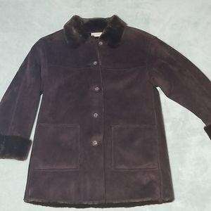 St. Johns Bay faux fur coat